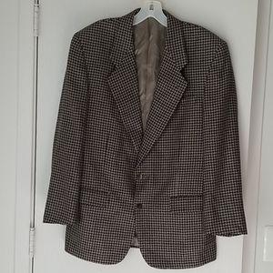 Marcial Mancillas Silk Wool Sport Coat Jacket